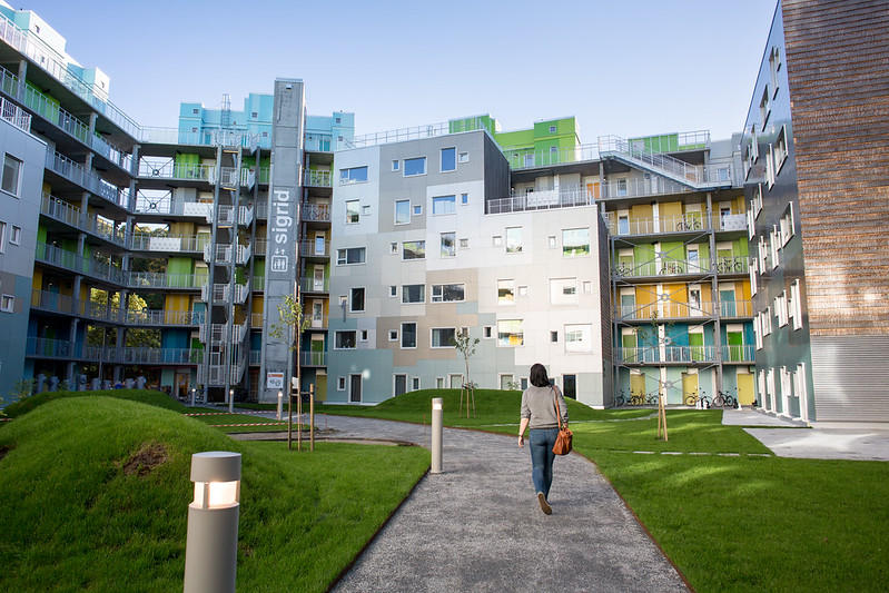 Sammen student accomodation in Bergen