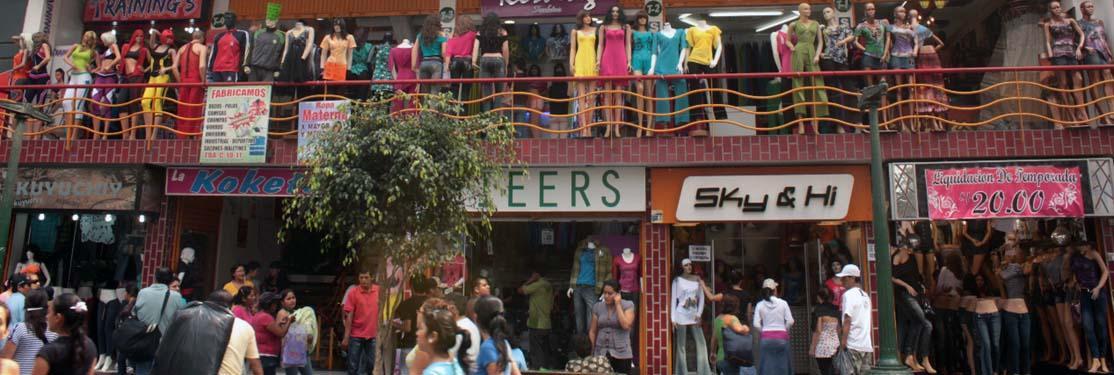 Kjøpesenter i Peru