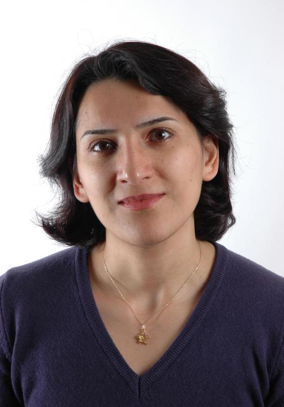 Førsteforfatter Sara Ghaderi