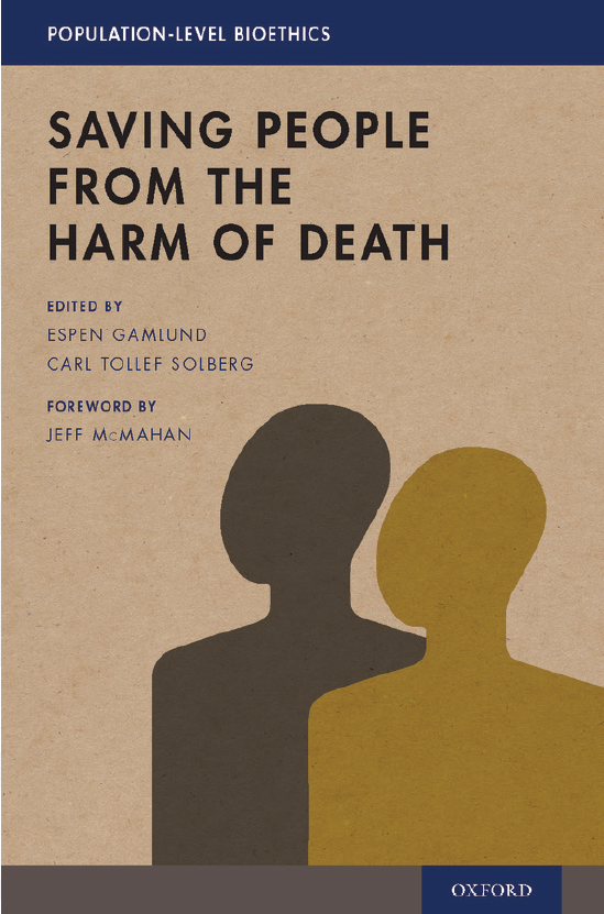 Saving people from the harm of death, Oxford University Press