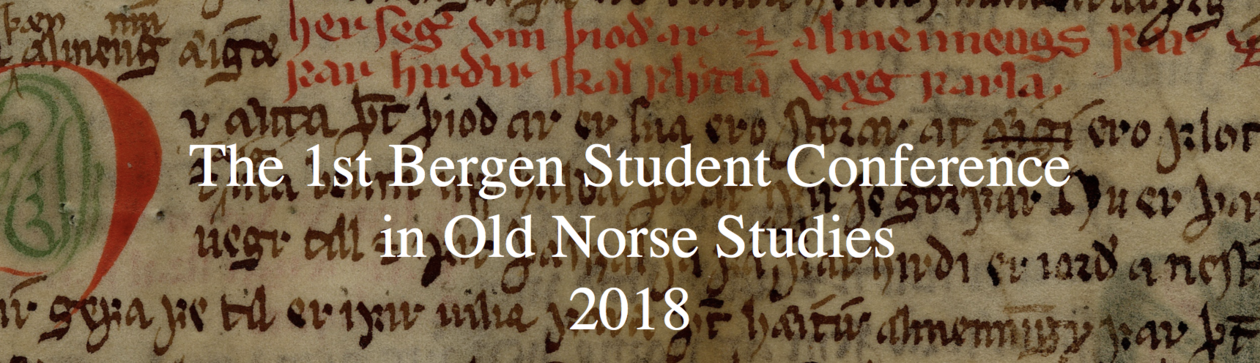 The 1st Bergen Student Conference