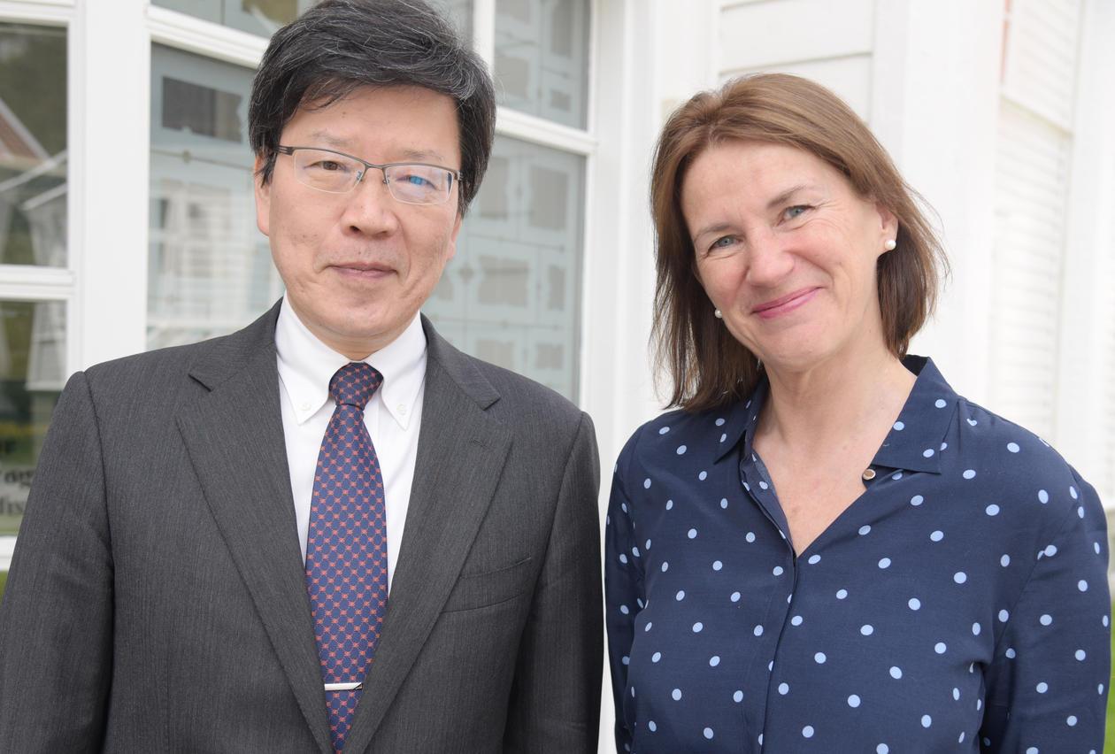 SEFAS og Tokyo Metropolitan Institute of Gerontology