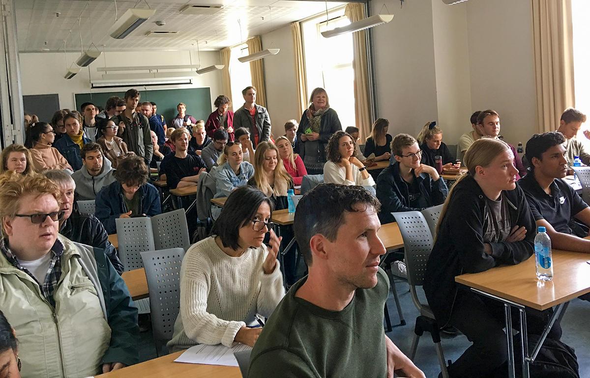 Fullt lokale ved semesterstart ved FoF høsten 2019