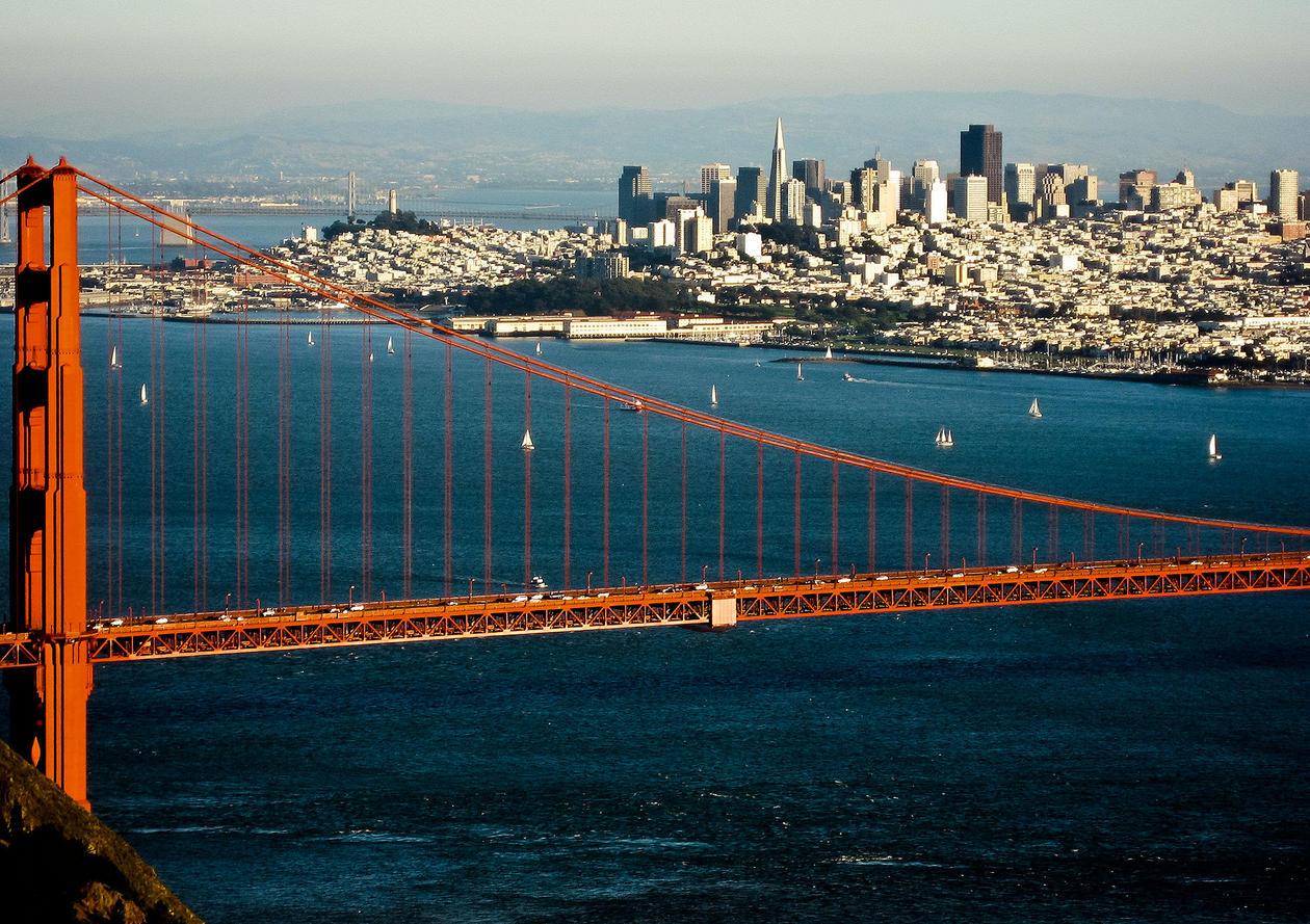 San Fransisco from Marin Headlands
