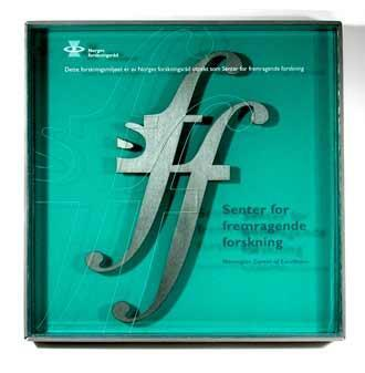 SFF logo på skilt