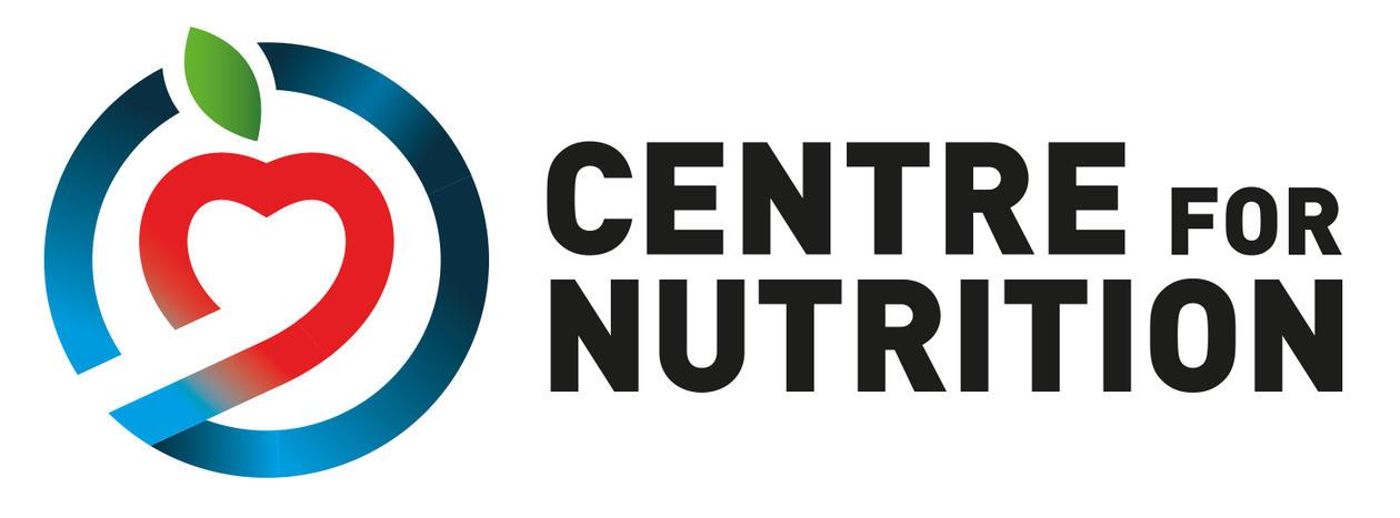 Logo Senter for ernæring engelsk