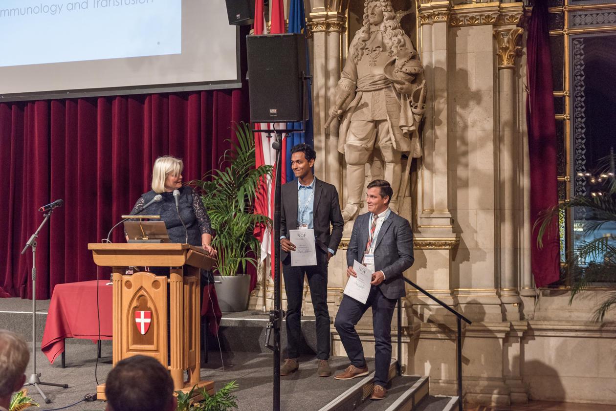 Siddharth Shanbhag mottar Nordic Hatton Award