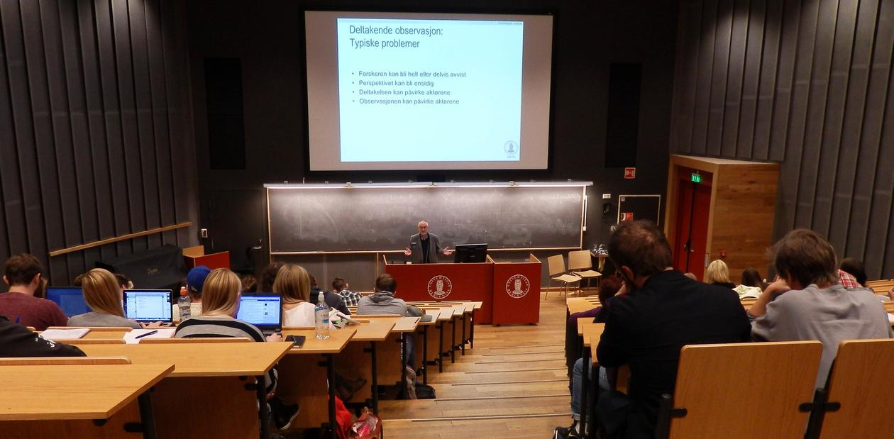 Lecture at the Faculty of Social Sciences