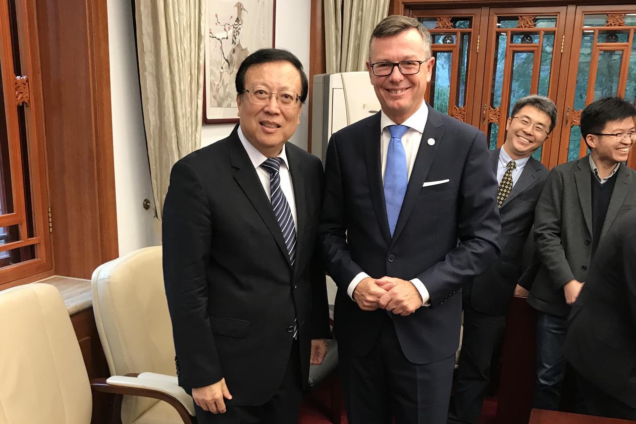 Signering UiB og Peking University