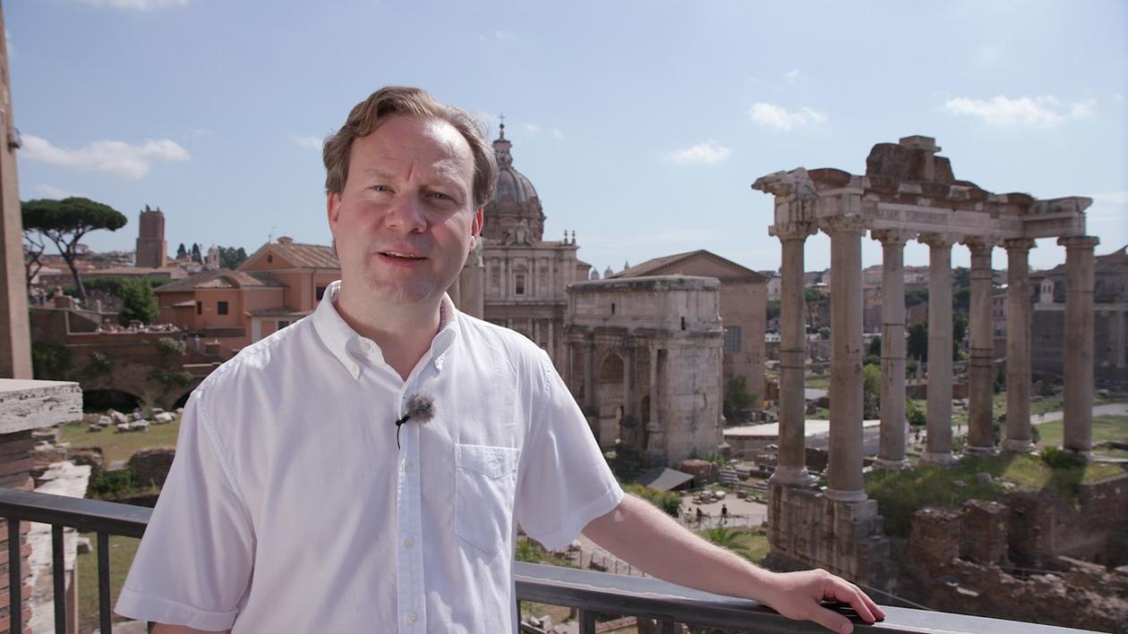Simon Malmberg i Roma