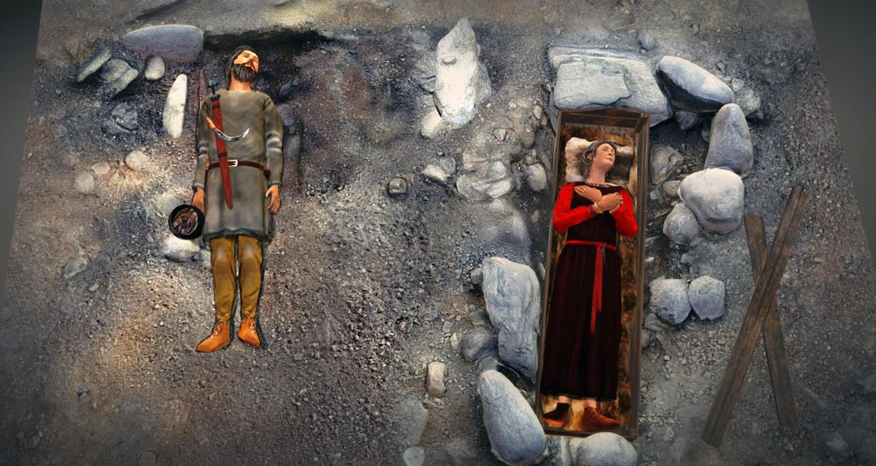 Gravene på Skarstein