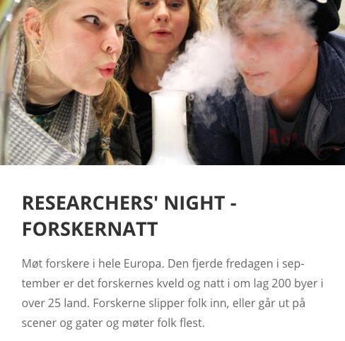 Forskernatt på museet