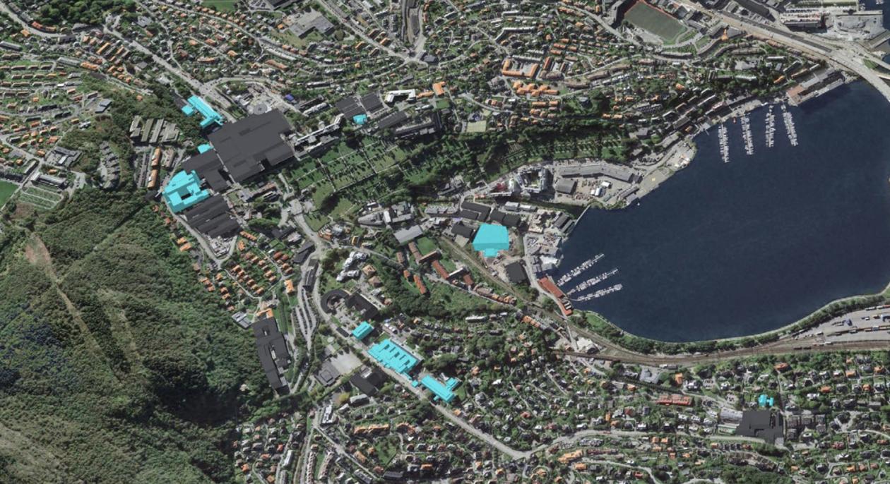 Oversikt Årstad/Møllendal