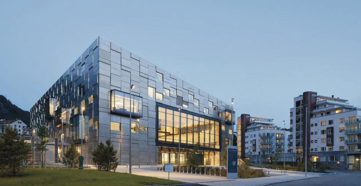 KMDs nye bygg på Møllendal