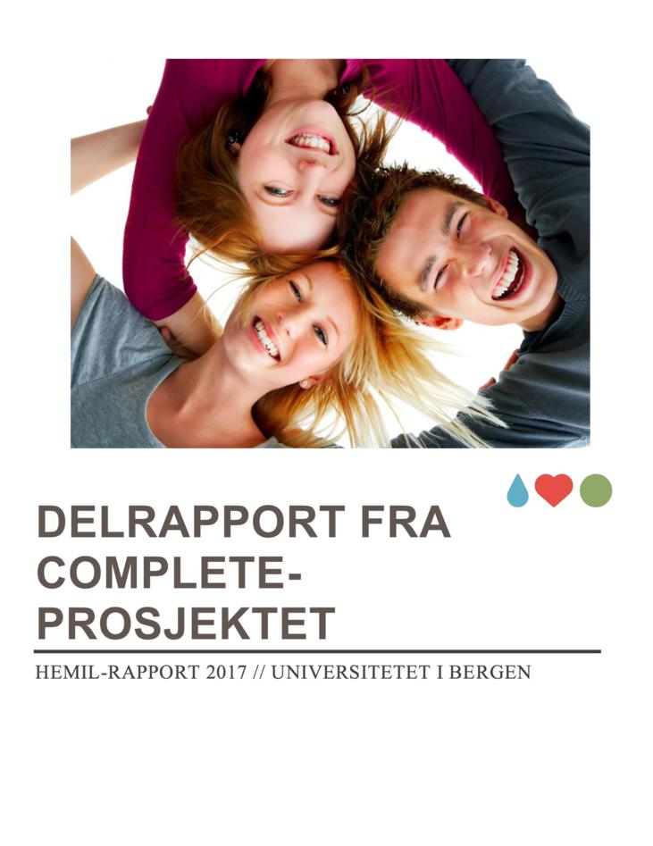 Delrapport frå COMPLETE-prosjektet (2017)