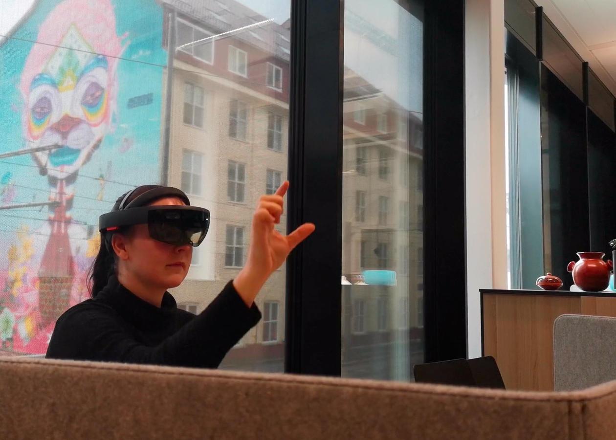 Holosuite VR briller
