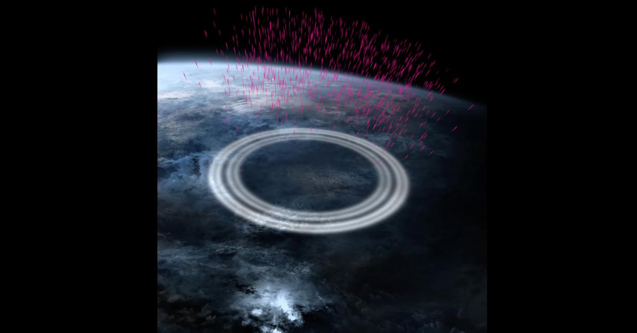 Gammastråler, illustrasjon