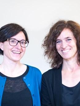 Bilde av Berit Skretting Solberg og Anne Halmøy