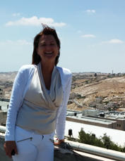 Siv Lise Bedringaas visiting Al-Quds University