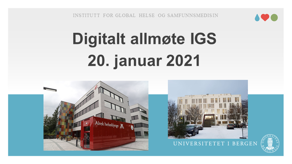 IGS General Assembly 2020