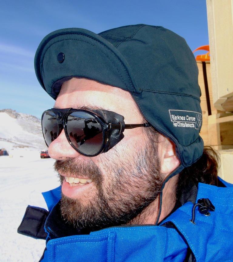Professor Lars Henrik Smedsrud, Geophysical Institute, University of Bergen.