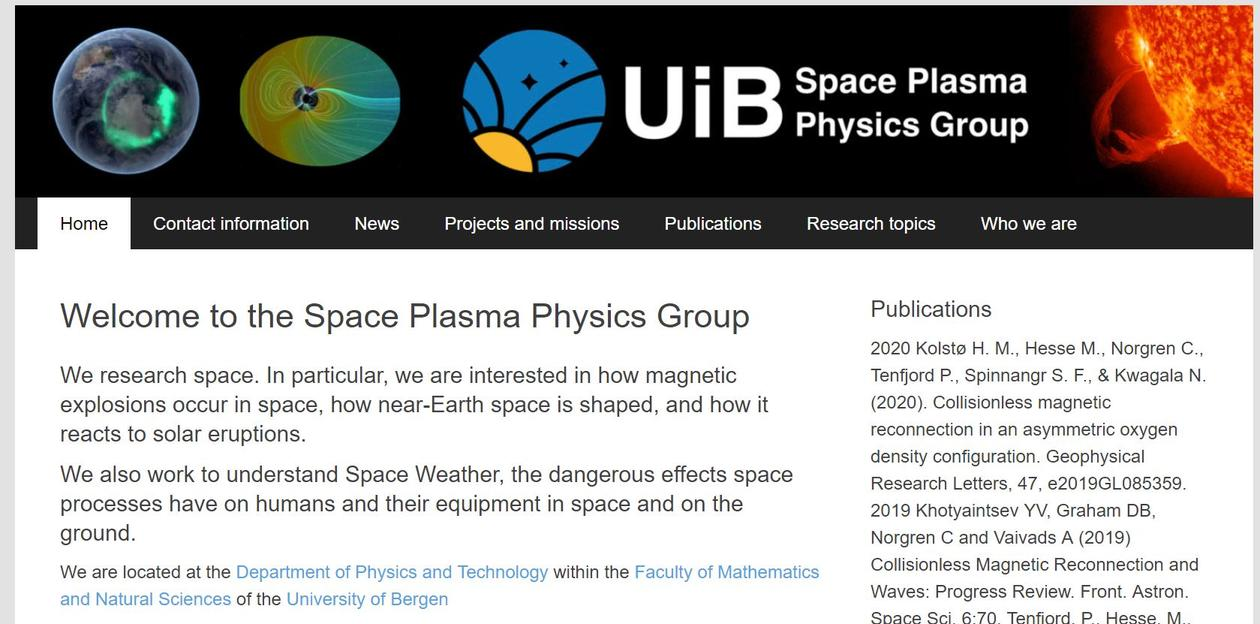https://spacephysics.w.uib.no/