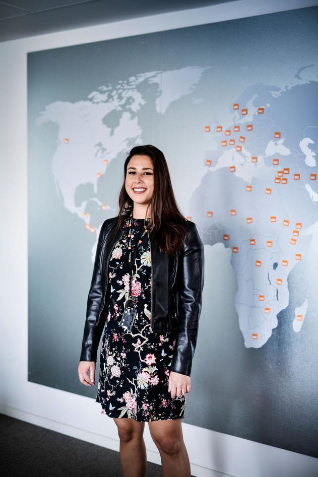Sofia Petkovic had her eyes set on the dream job