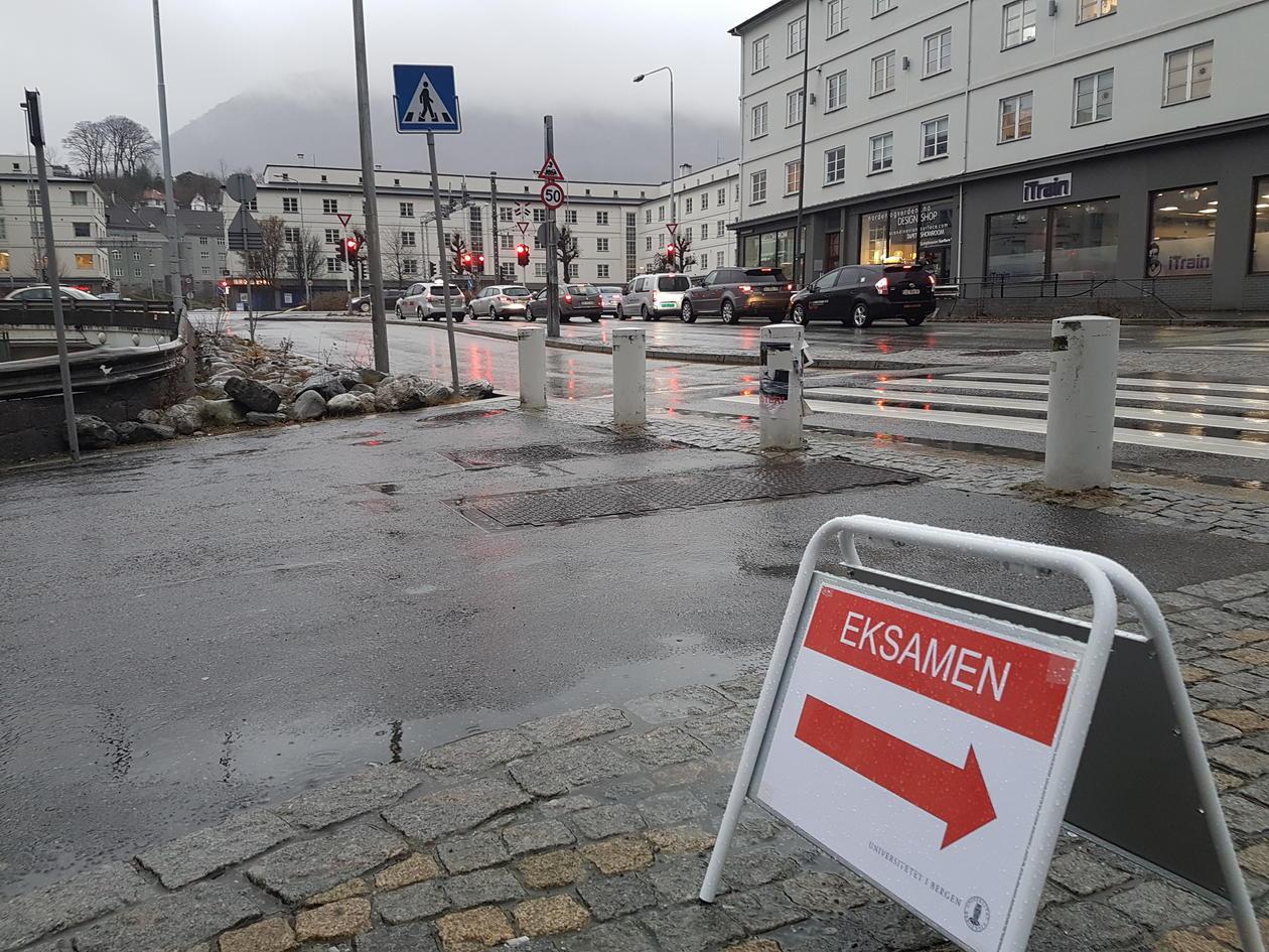 Bilde av eksamenslokale i Solheimsgaten