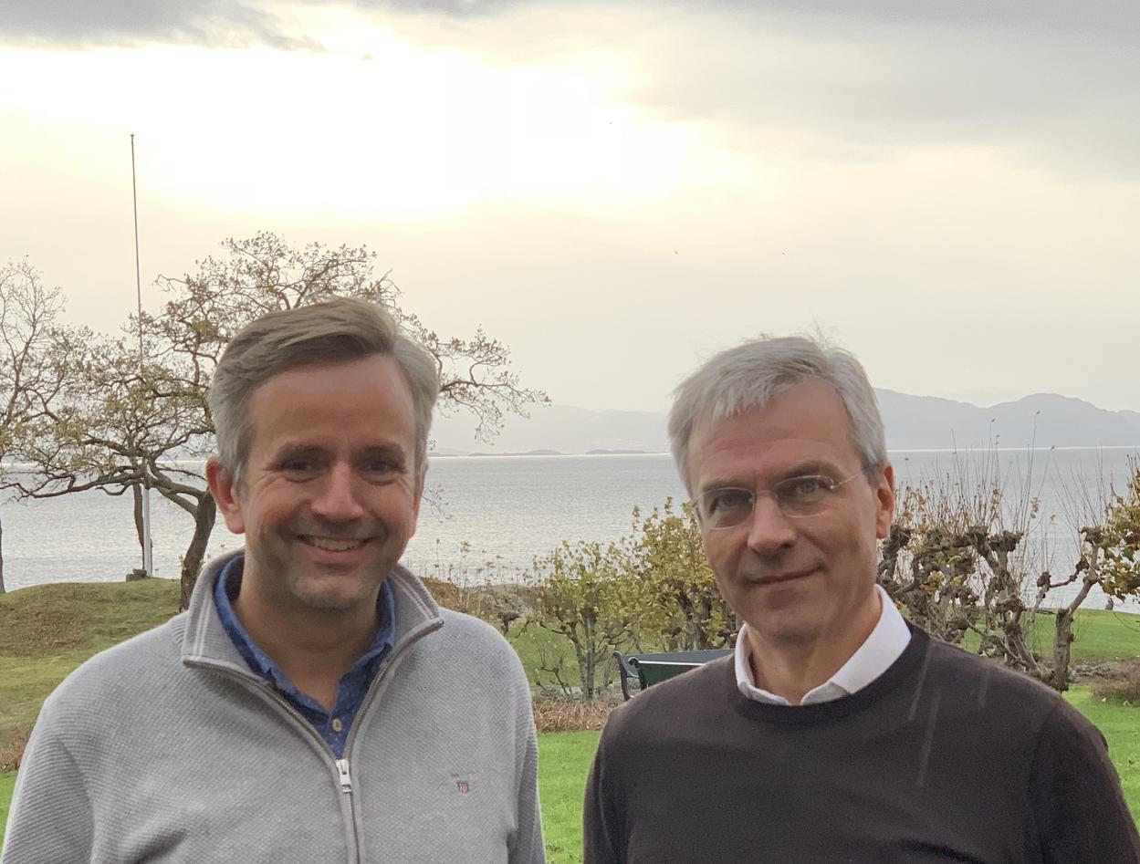 Inge og Bjørn Tore på Solstrand