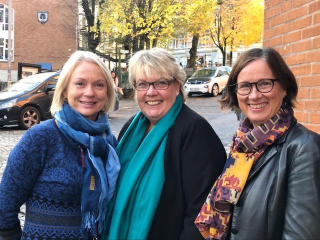 Toril Salen, Vivien Aamodt og Kjersti Aarefjord, Det psykologiske fakultet