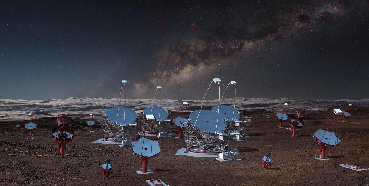 CTA Telescopes Chile