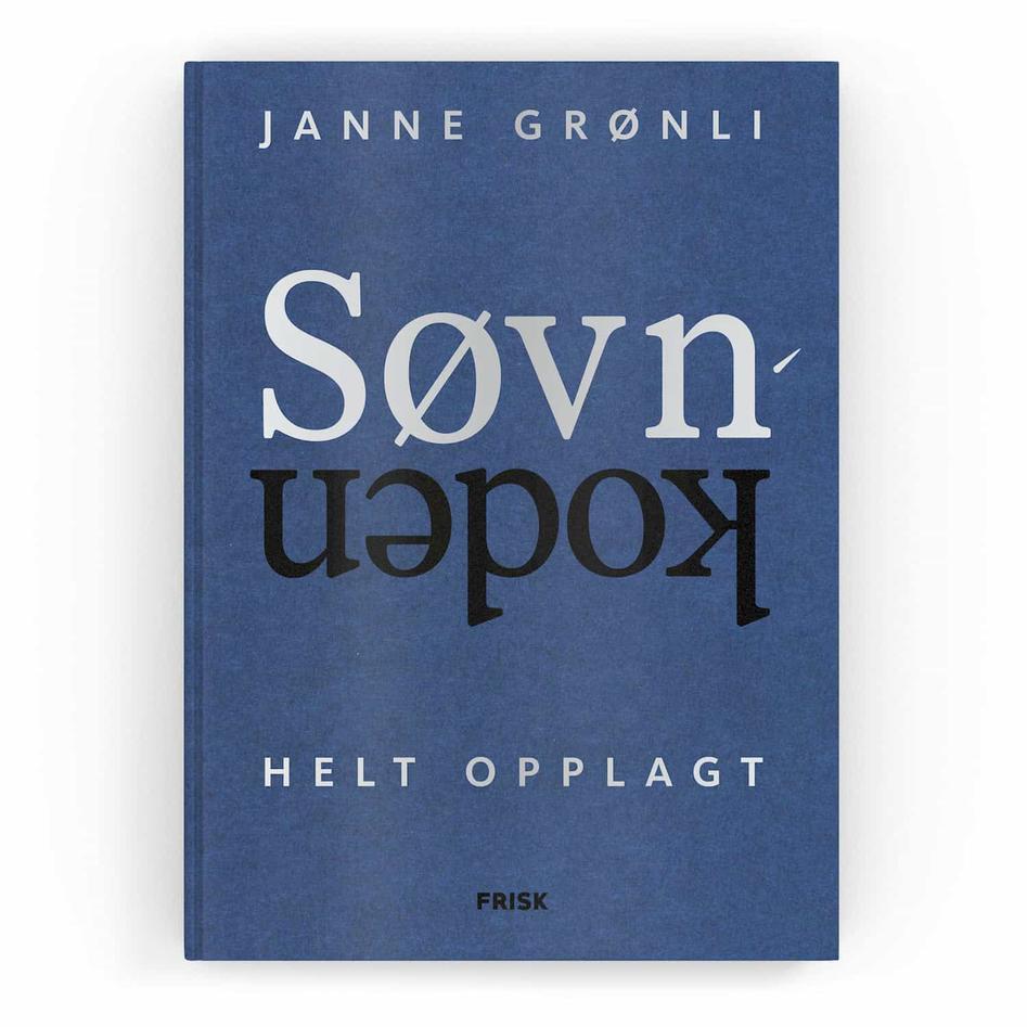 Bokomslaget til boken Søvkoden helt opplagt, forfatter Janne Grønli