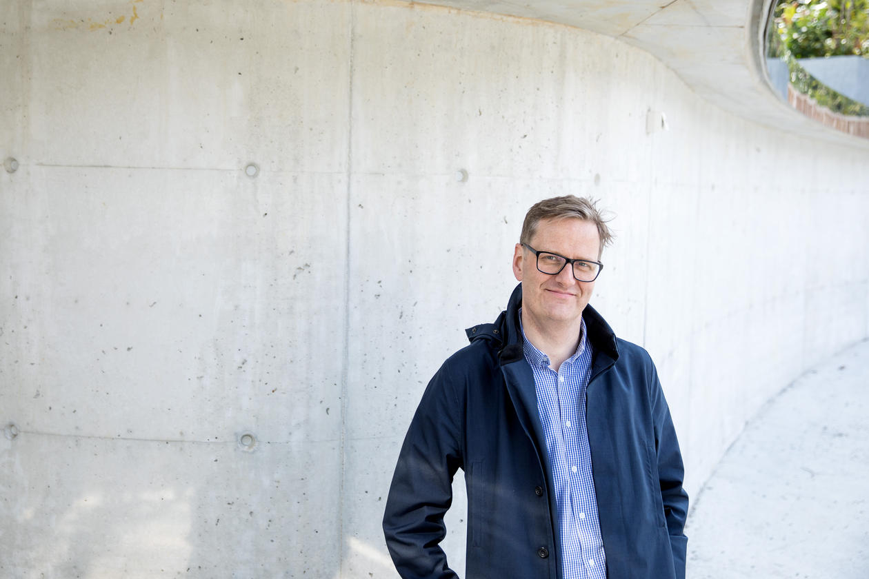 Portrettt Håvard Haarstad