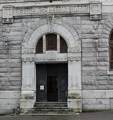 Bergens Privatbank på Torgalmenningen