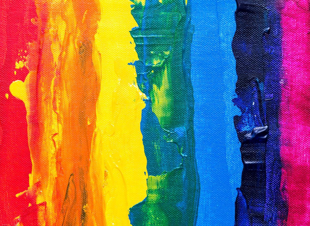 Regnbogefargar