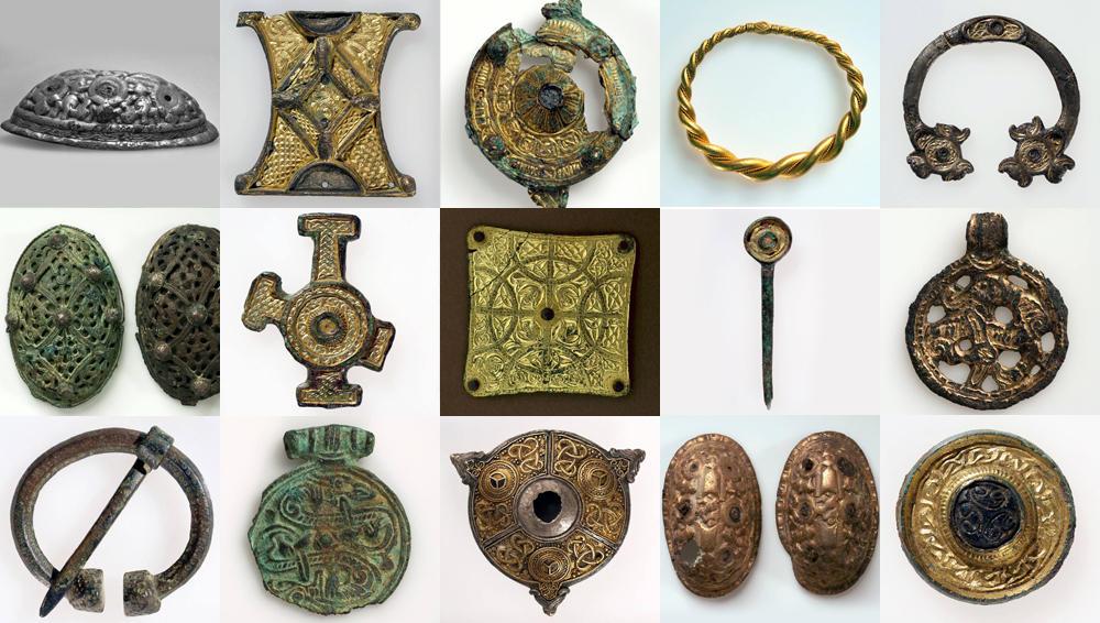 Stjålne gjenstander fra Universitetsmuseet i Bergen