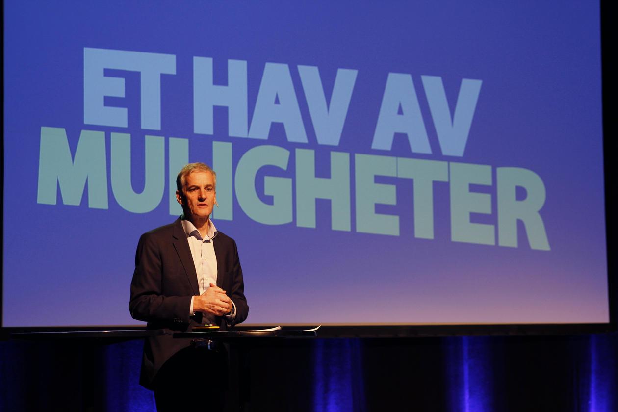 Jonas Gahr Støre, Havkonferanse i Bergen