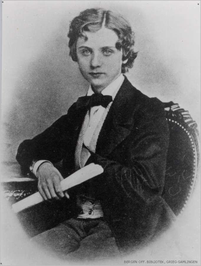 Grieg, Leipzig 1862