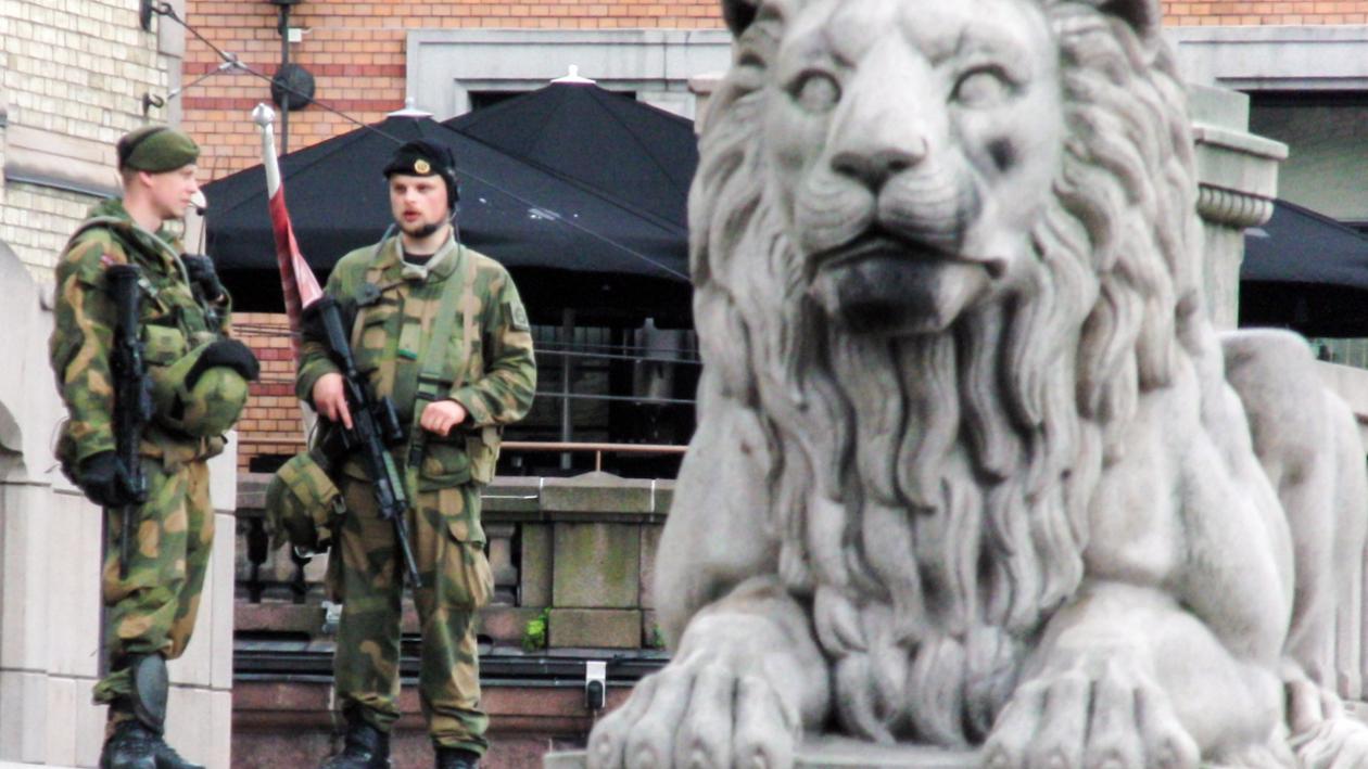 storingsløva og soldatar