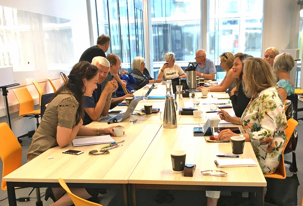 Strategimøte ved Media City Bergen