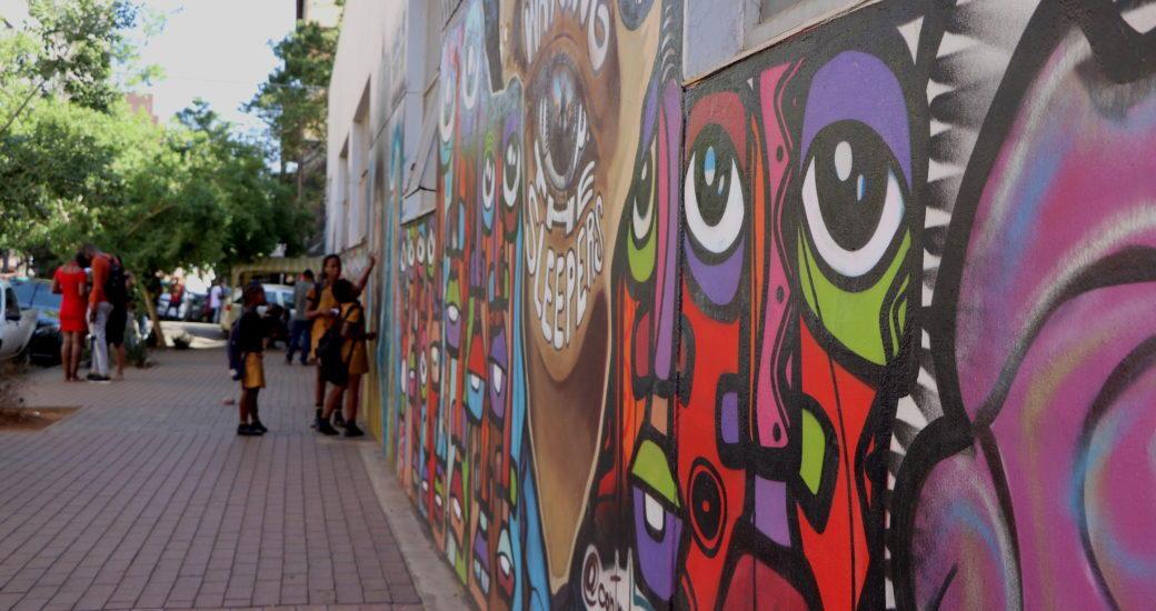 Grafitti Johannesburg