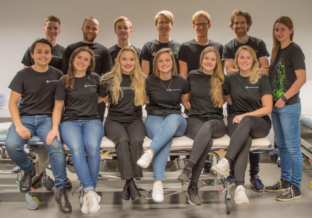 Studentinstruktører vinter 2018/2019 Ferdighetssenteret gruppebilde