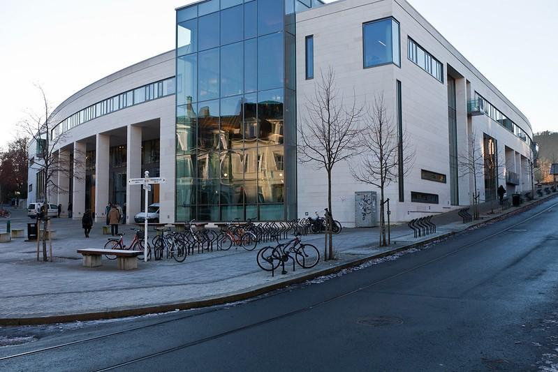 The student centre in Bergen