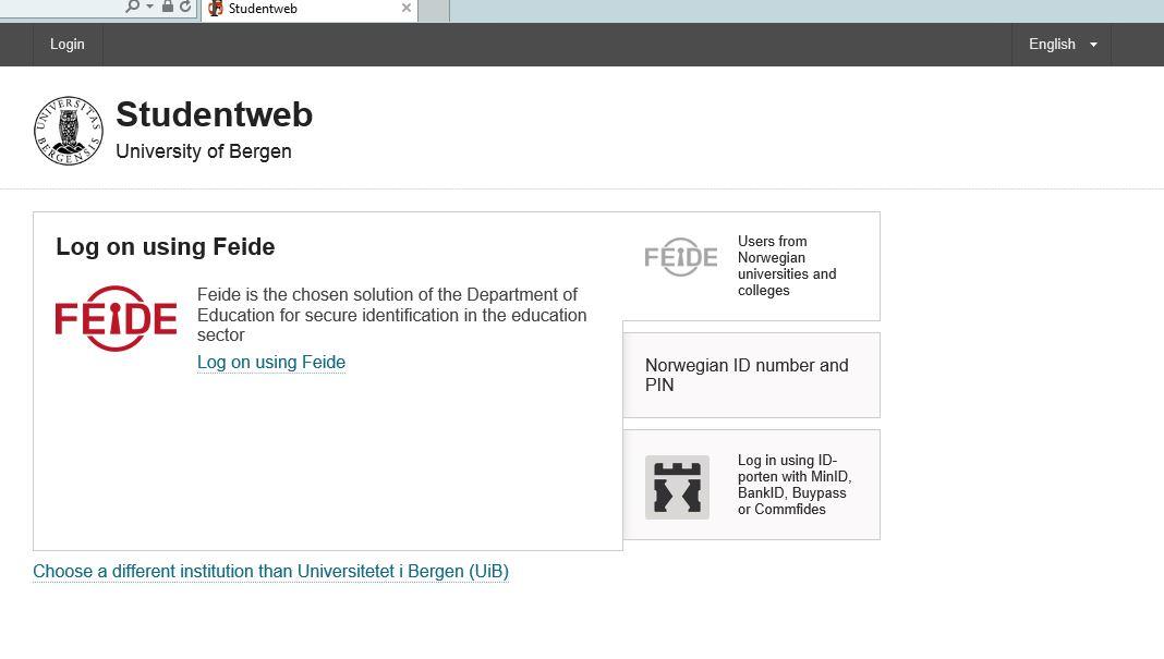 Studentweb