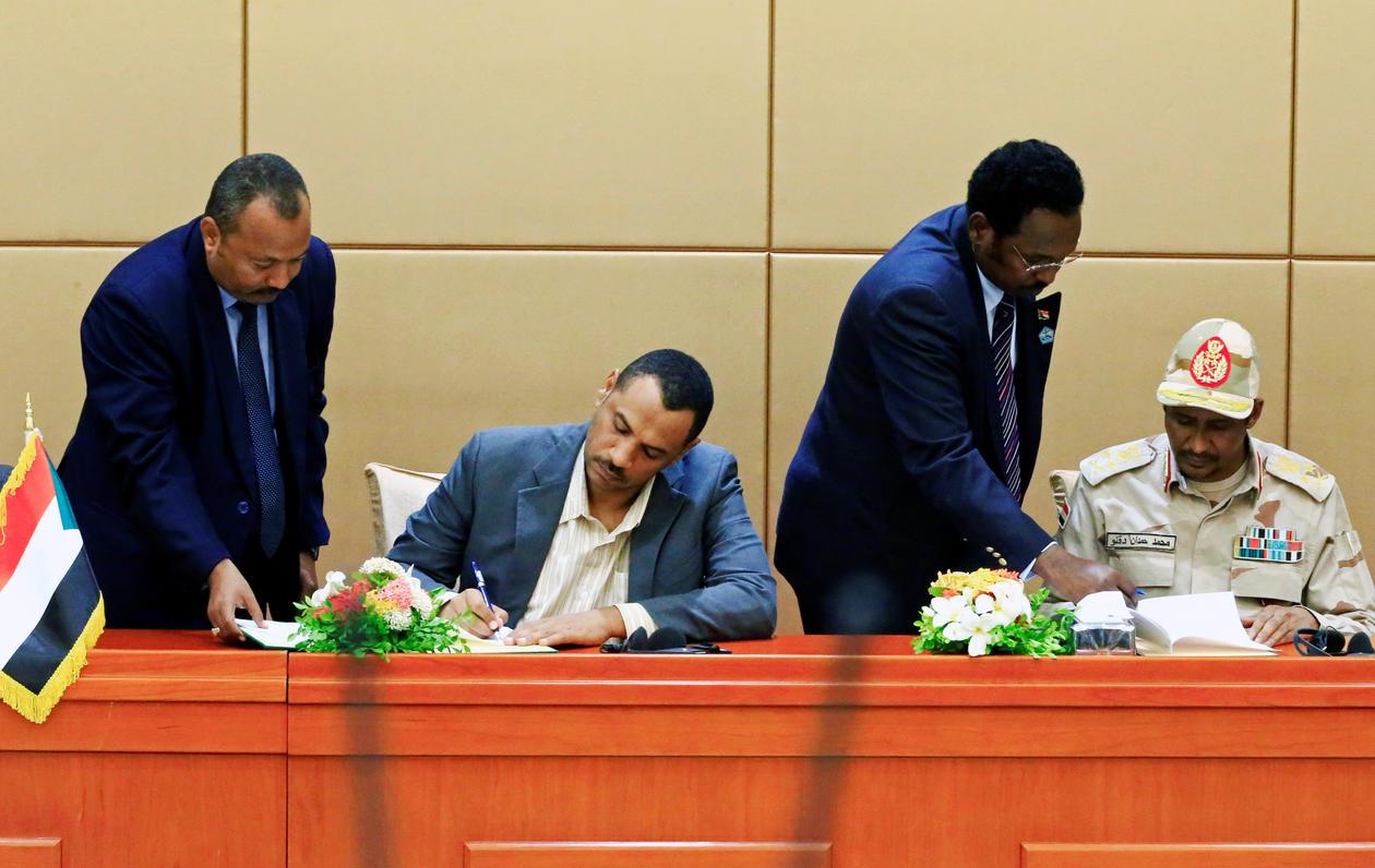 Sudan signing