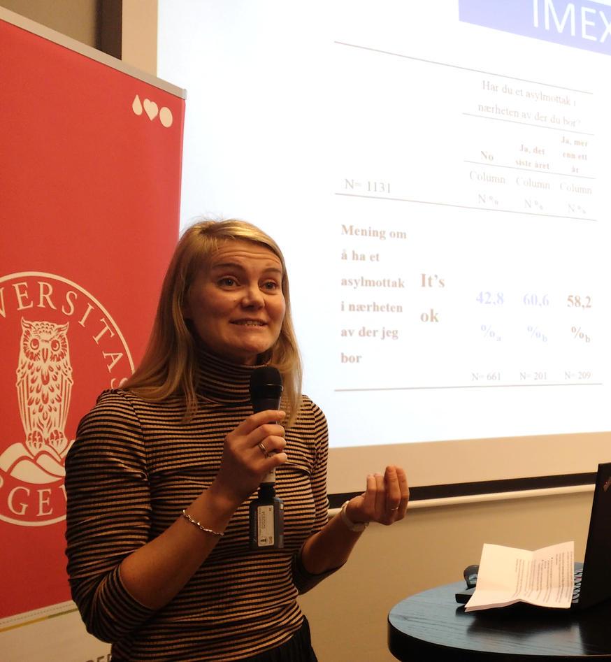 Bygnes presenting