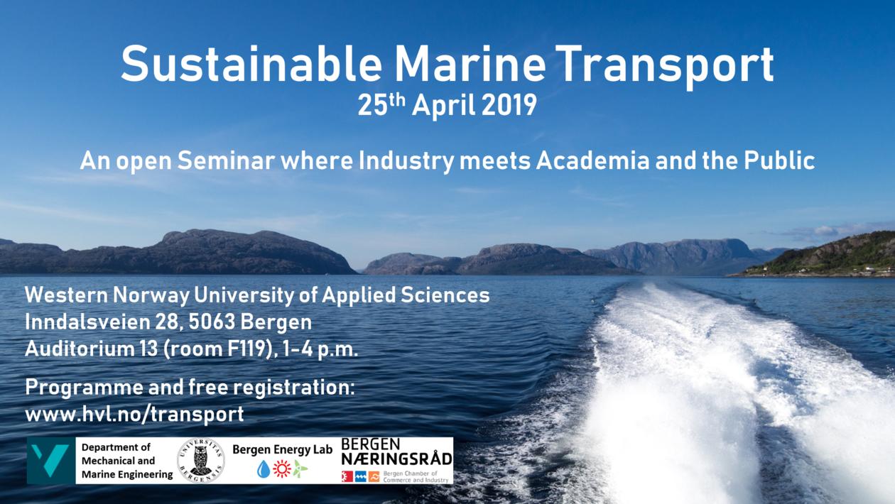 Poster: Sustainable Marine Transport