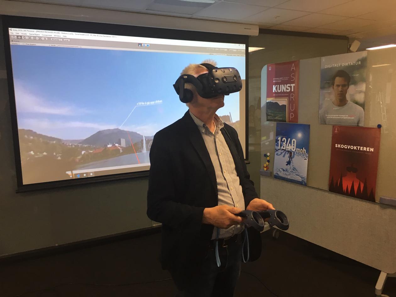 På VR-visning