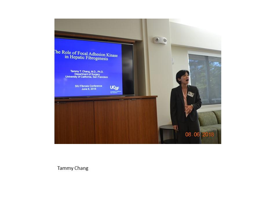 Tammy Chang at the SF conference 2018