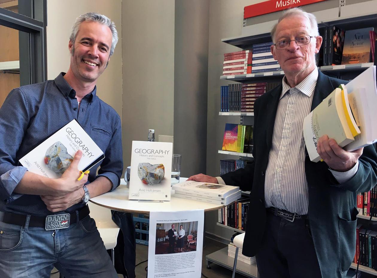 Tarje I. Wanvik og Arild Holt-Jensen
